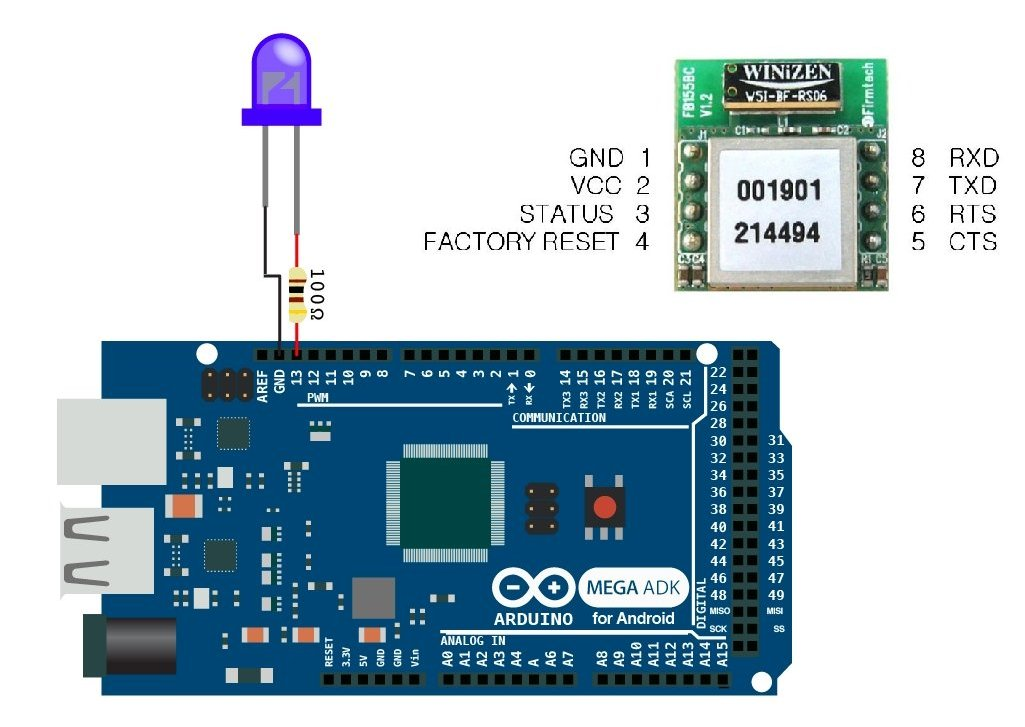 Arduino Bluetooth Code Android