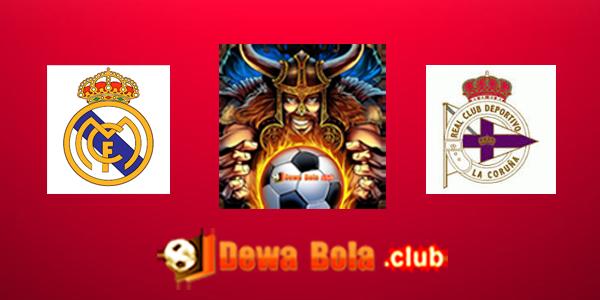 Prediksi Skor Real Madrid VS Deportico La Coruna 10 Desember 2016