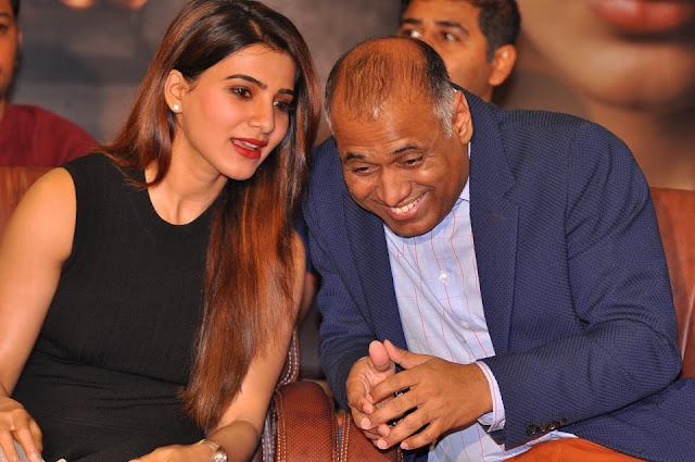 Samantha New Stills at Raju Gari Gadhi 2 Success Meet