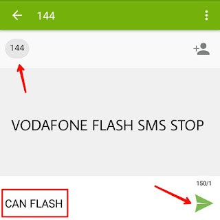 How to stop flash sms