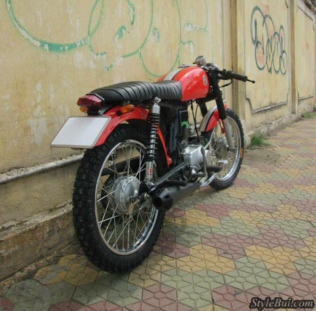 Xe 67 độ Cafe Racer đẹp ở Việt Nam
