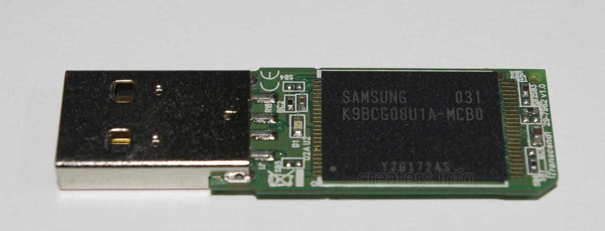 Transcend JetFlash 300 8 Gb Vid 8564 Pid 1000 Samsung K9BCG08U1A-MCB0