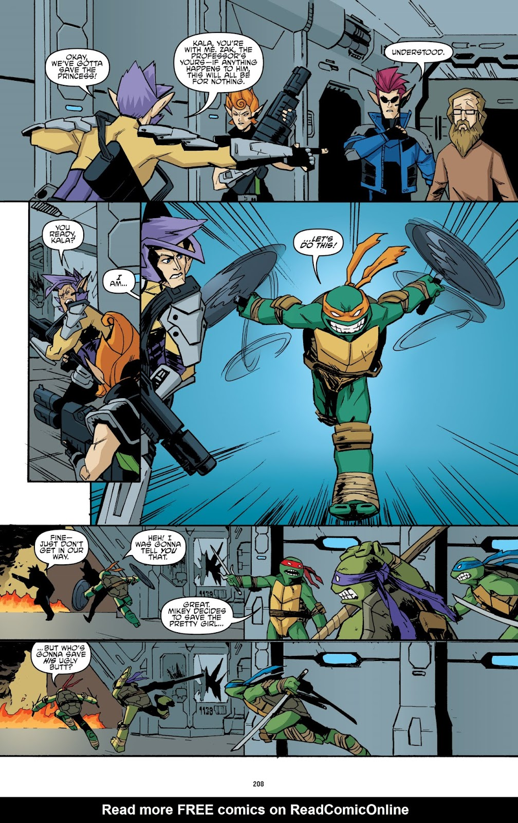 Read online Teenage Mutant Ninja Turtles: The IDW Collection comic -  Issue # TPB 2 (Part 3) - 9