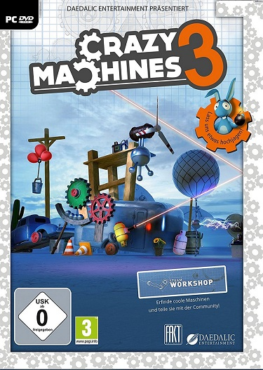 Crazy Machines 3 Lost Experiments RELOADED Full