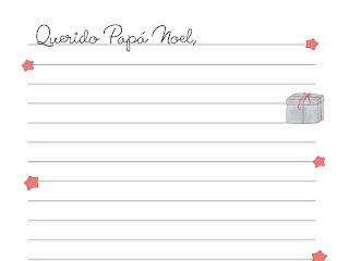 "Carta "" Papá Noel"" y ""Reyes Magos"" gratis para imprimir"
