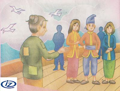 Cerita Rakyat RIAU : Kisah Si Lancang