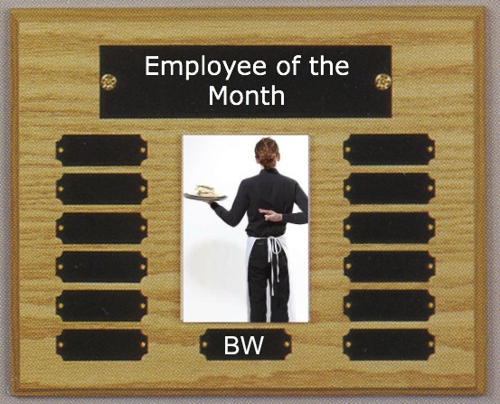 the bitchy waiter Bitch of the Month