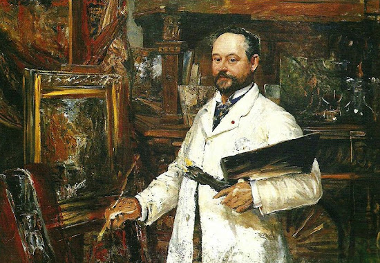 Ernst Josephson, Self Portrait, Portraits of Painters, Fine arts, Painter Ernst Josephson
