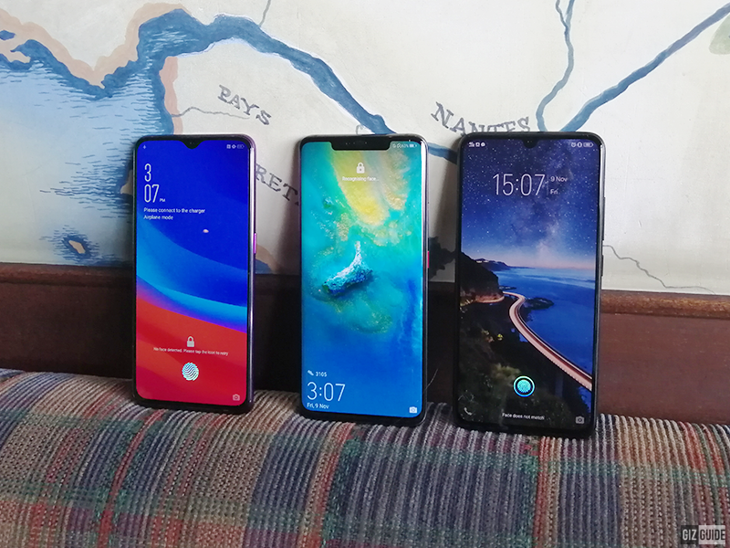List of smartphones with In-Display fingerprint scanner in the Philippines