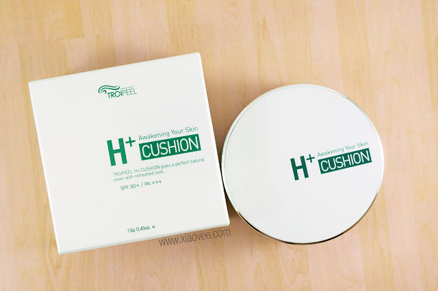 TROIPEEL H+ Cushion Review, TROIPEEL Healing cushion review, TROIAREUKE