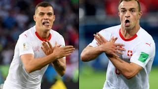 Μουντιάλ: Σάλος με τον «αλβανικό αετό» των Ελβετών...