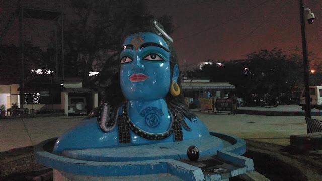 haridwar shiv idol