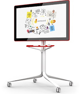 Google launches Jamboard, an Android-powered digital whiteboard with 55-inch 4K touch display