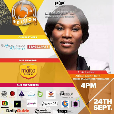Anita Erskine Unveiled As Next Speaker For The 5th Edition Of Lead Series