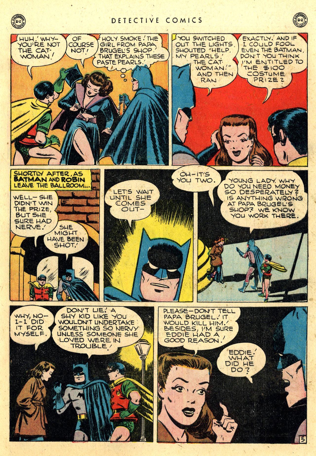 Read online Detective Comics (1937) comic -  Issue #112 - 7