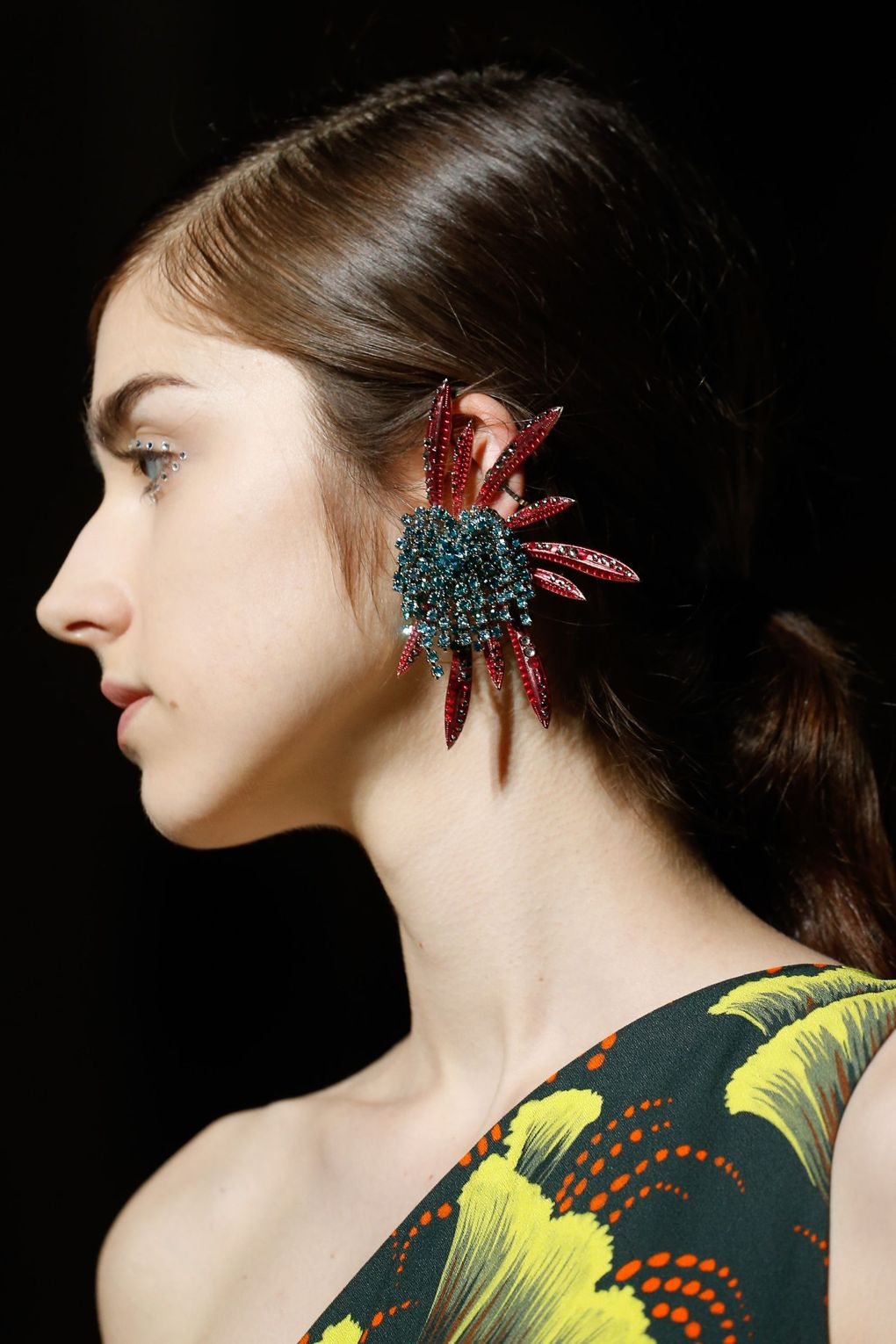 03b0a15249fd Jewelry  Catwalk Earrings S S 2018 that will Inspire your new Season look