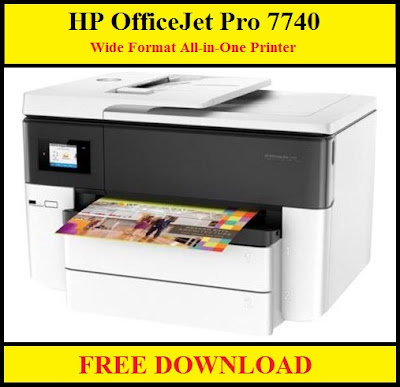 HP OfficeJet Pro 7740 Drivers Download