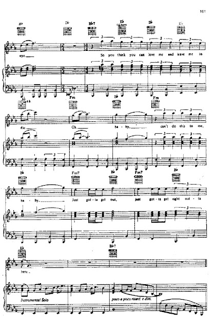 Bohemian Rhapsody Partitura