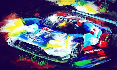 Rolex Daytona 24 by Taisiya Lavrova