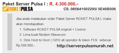 Jasa Server Pulsa di Medan