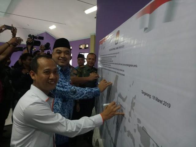 Pemkab Tangerang Gelar Deklarasi Pemilu Damai