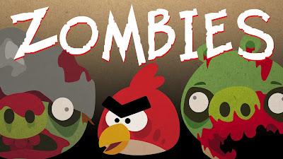 Angry Birds VS Zombies Parody