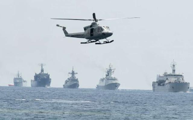 TNI AL Kirim Kapal Perang di Perairan Natuna