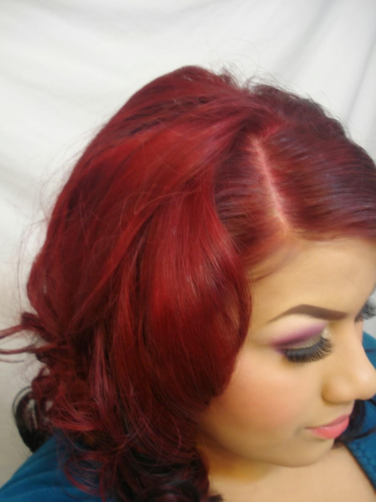 Burgundy Hair Color Hair Color Styles