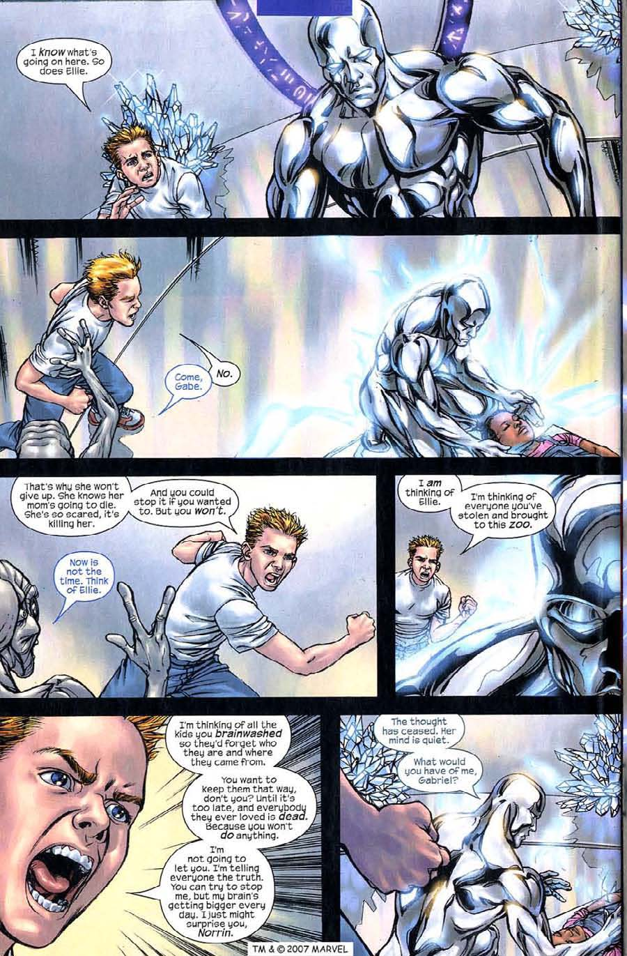 Read online Silver Surfer (2003) comic -  Issue #5 - 28