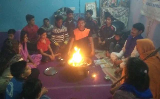 Yagna is the environment and self-purification: Raj Kishor Shastri