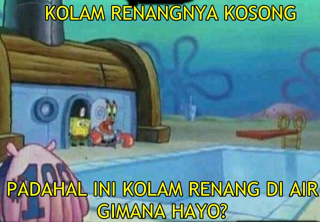 11 Meme Spongebob Ini Kocak Banget Logika Berpikir Kamu