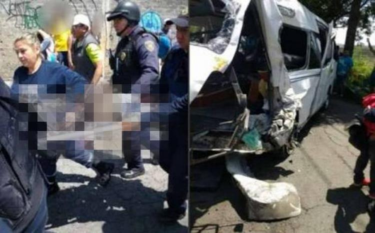 Video: Dan a conocer el video del choque de Xochimilco-Topilejo.