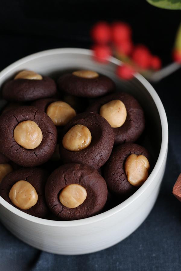 Gefüllte Plätzchen, Plätzchen, Kekse, Weihnachten, Fleurcoquet