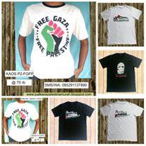Toko Kaos Palestina Online