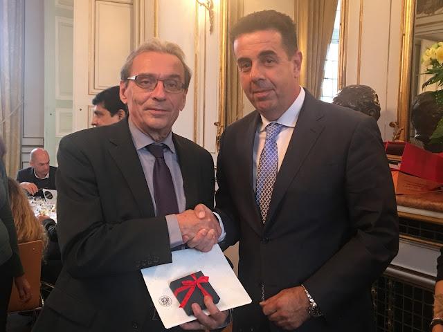 Γόνιμη συνάντηση εργασίας του Δήμαρχου Ναυπλιέων Δημήτρη Κωστούρου με τον Δήμαρχο του Στρασβούργου Ρόναλντ Ρις