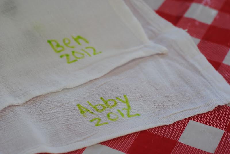 Reusable Cloth Napkins (Kids Craft Idea)