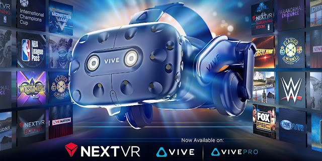 NextVR has launched their app for the Vive via Viveport