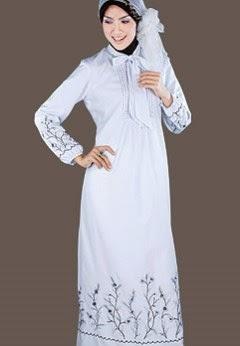 Desain gamis muslimah yang elegan