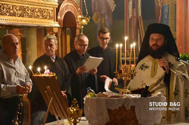 Ιερά αγρυπνία για την εορτή του Αγίου Ιάκωβου του Αδελφοθέου στην Ήρα Αργολίδας (βίντεο)