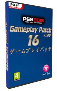 PES 2016 Gameplay Patch 16 1.00 by Yaku & IceTea