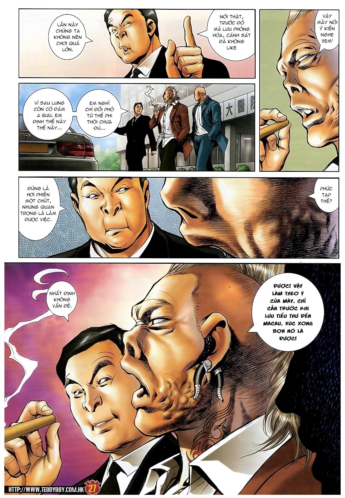 Người Trong Giang Hồ - Chapter 1572: Nam Phi khởi nghiệp - Pic 24