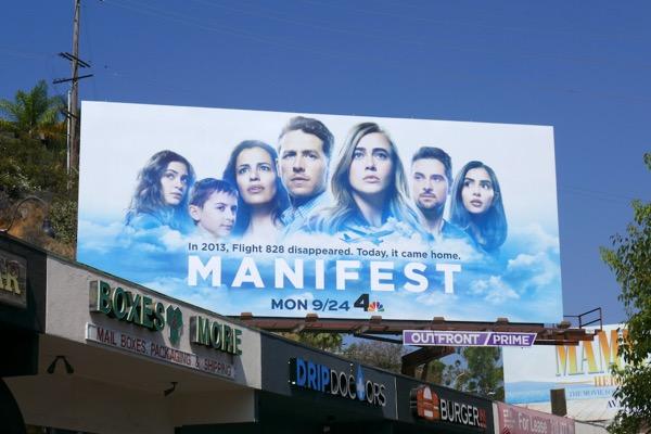 Manifest series launch billboard