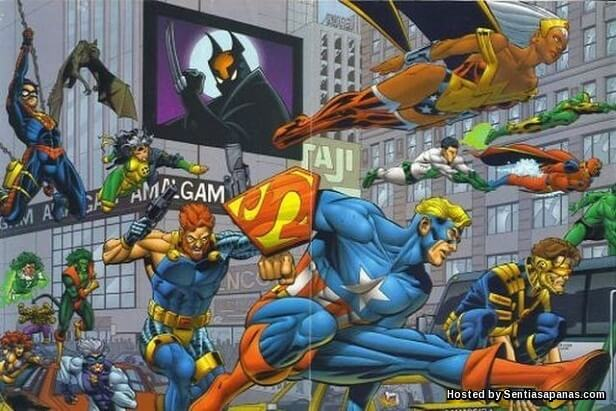 Marvel & DC Amalgram
