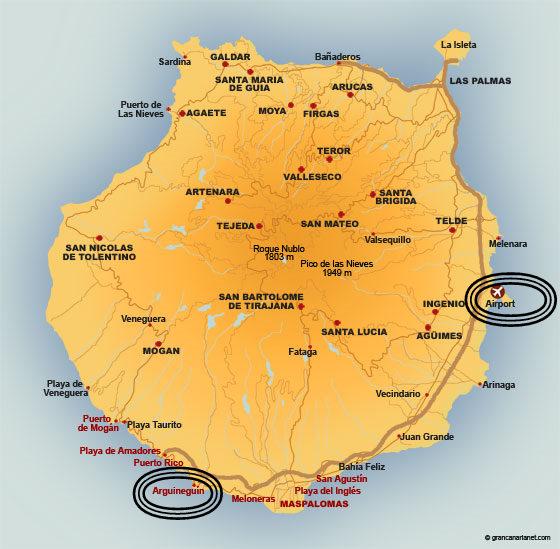 arguineguin kart Randi's tanker om reiser og hverdagen: Arguineguin   Little Norway arguineguin kart