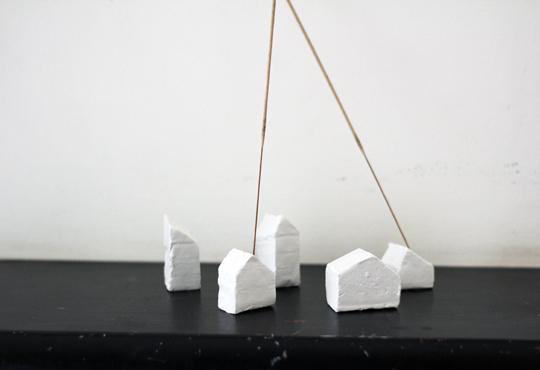 make clay incense sticks