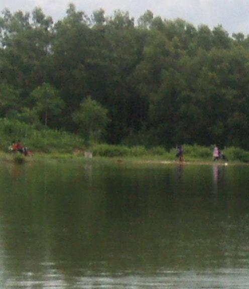 kenangan manis mancing ikan di rawa