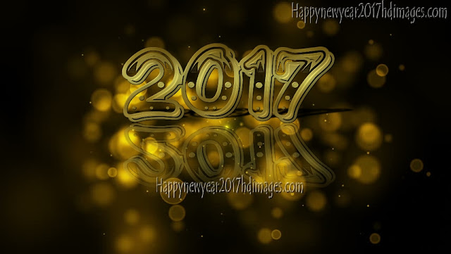 Happy New Year 2017 HD Pics With Sparkling Background  Download Free