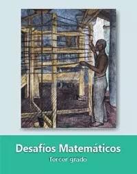 Libro de texto  Desafíos Matemáticos Tercer grado 2019-2020