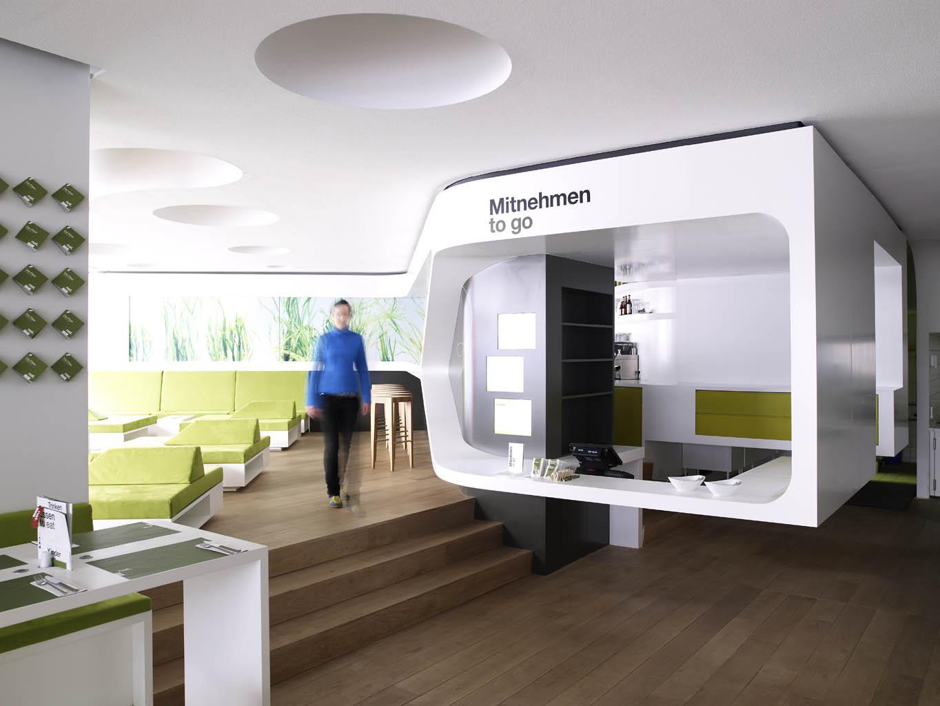 Restaurant Interior Design Nat Fine Organic Food Hamburg Mitte