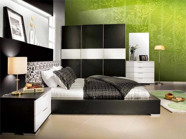 Dekorasi kamar tidur prints